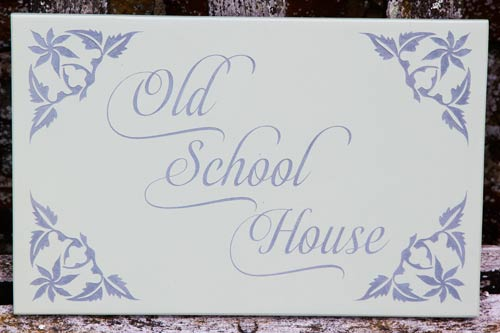 Painted Slate House Signs (10 - 12mm Thick)| The Sign Maker Shop
